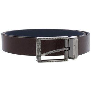 Robert Graham Terdel Brown/Navy Reversible Belt